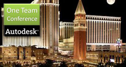 Autodesk One Team Conference se koná v LasVegas --1211