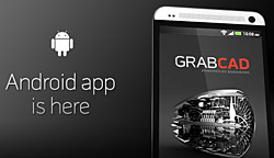 GrabCAD app Android banner-1325