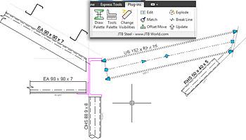 Jednoduche Vykresy Konstrukci S Jtb Steel Pro Autocad