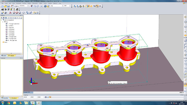 GBSC screen shot manifold