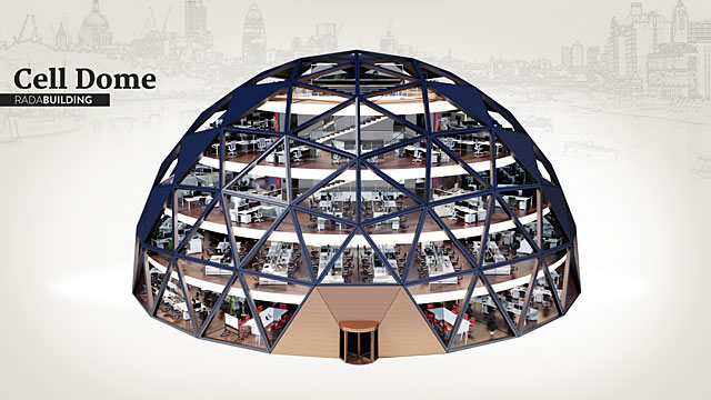 Rada Building-Cell Dome-1541