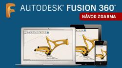 Fusion 360 zdarma a s českým návodem