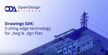 ODA vydává Drawings SDK 2020
