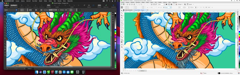 CorelDRAW GS 2021 Mac Win-2111