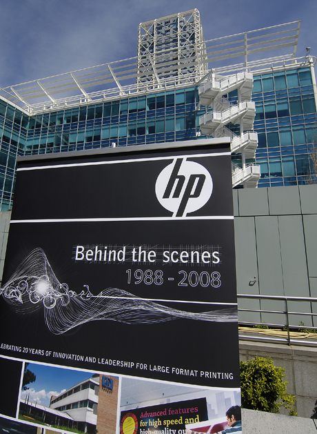 HP - Behind the scenes