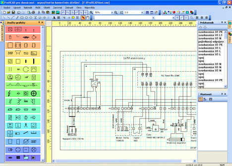 Proficad Jednoduchy Elektrocad Software