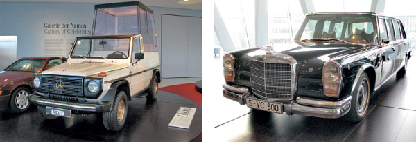 Obr. 15 Mercedes-Benz 230 G Papamobile (1980)