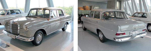 Obr. 21 Legenda MB 190 D (W110-1961)